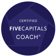 Five Capitals Certified Coach Badge